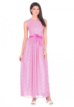 Платье IMAGO. Цвет: розовый