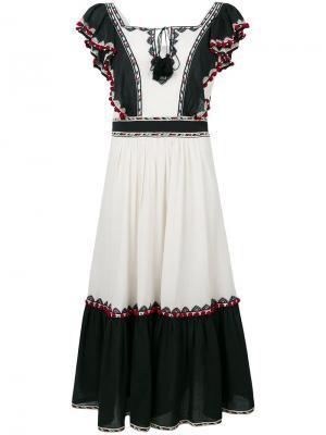 Платье Alicia Talitha. Цвет: телесный