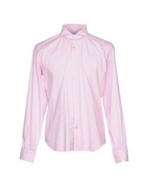 Pубашка DOMENICO TAGLIENTE. Цвет: розовый