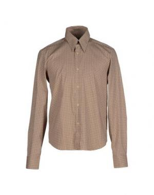 Pубашка NANIBON. Цвет: бежевый