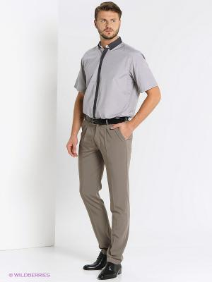 Рубашка Maestro. Цвет: серый