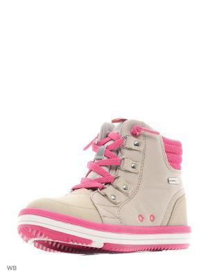 Ботинки Reima. Цвет: серый, малиновый