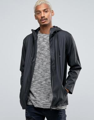 Serge DeNimes Куртка-дождевик De Nimes 4 Symbol. Цвет: черный