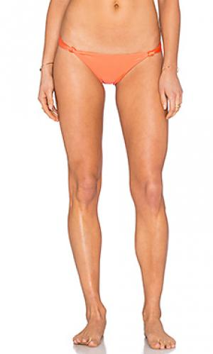 Низ бикини knot Vix Swimwear. Цвет: коралл