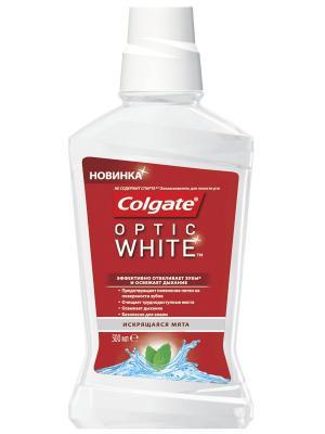 Ополаскиватель для полости рта Optic White 500 мл COLGATE. Цвет: белый, красный