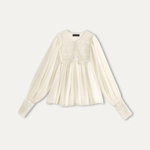 Блузка AGATA ANTIK BATIK. Цвет: кремовый
