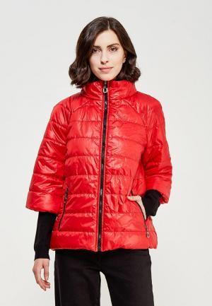 Куртка утепленная SK House. Цвет: красный