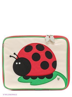 Чехол для Планшета JuJu-Lady Bug Beatrix NY. Цвет: красный, черный, зеленый