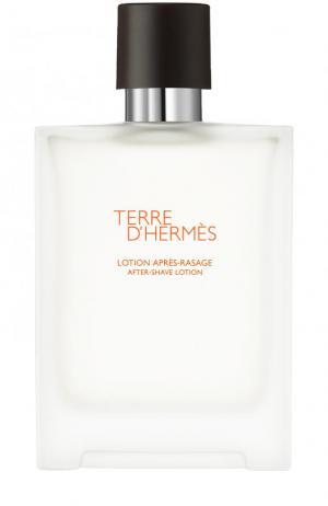 Лосьон после бритья Terre d Hermès. Цвет: бесцветный