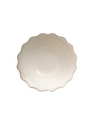 Набор салатников CROWNE, 6 шт. H&H. Цвет: белый
