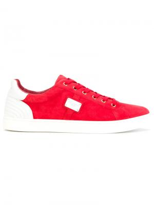 Кеды London Dolce & Gabbana. Цвет: красный