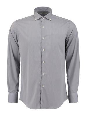 Рубашка Ingram. Цвет: светло-серый