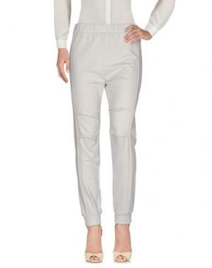 Повседневные брюки ANNARITA N.. Цвет: светло-серый