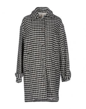 Пальто SONIA DE NISCO. Цвет: черный