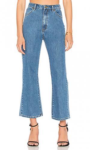 Укороченные расклёшенные джинсы eastcoast ROLLAS ROLLA'S. Цвет: none