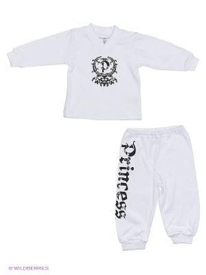 Пижама NICE-KID. Цвет: белый, черный