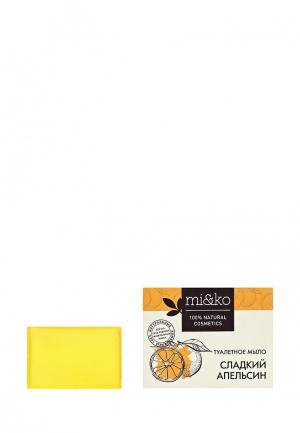 Мыло MiKo. Цвет: желтый