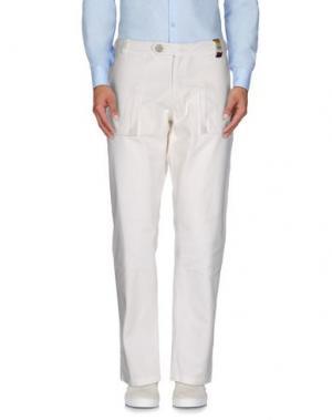 Повседневные брюки MOLO ELEVEN. Цвет: белый
