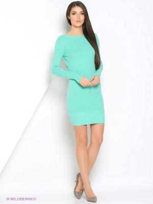 Платье Monlaydia. Цвет: бирюзовый