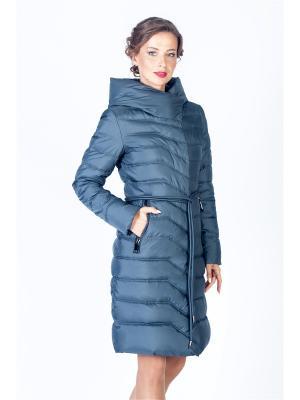 Пальто FREYA. Цвет: темно-серый