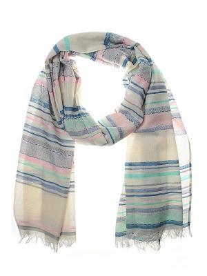 Палантин Migura. Цвет: синий, сиреневый, розовый, белый