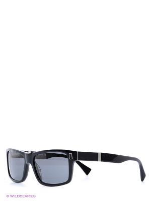 Очки солнцезащитные BLD 1521 104 Baldinini. Цвет: черный