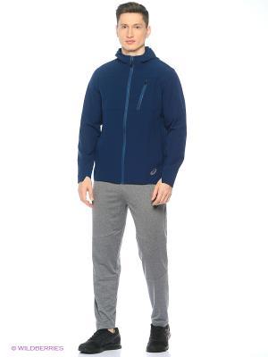 Куртка MELANGE JACKET ASICS. Цвет: синий