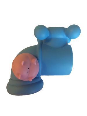 Все для Ванной - Защита на кран Бегемотик Склад Уникальных Товаров. Цвет: синий