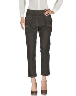 Повседневные брюки AERONAUTICA MILITARE. Цвет: темно-коричневый