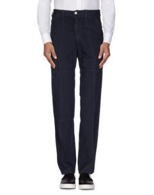 Повседневные брюки HERMAN & SONS. Цвет: темно-синий