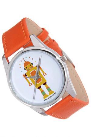 Часы Робот MITYA VESELKOV. Цвет: золотистый
