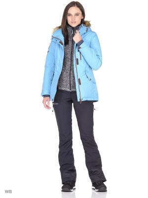 Куртка Stayer. Цвет: голубой