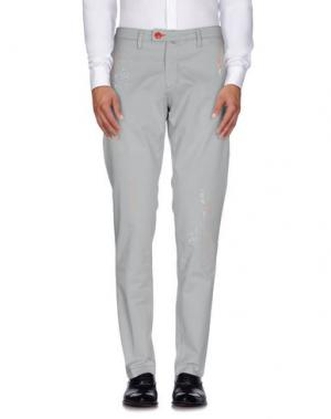 Повседневные брюки BARONIO. Цвет: светло-серый
