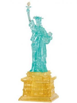 Головоломка 3D Статуя Свободы Crystal puzzle. Цвет: черный, белый, желтый
