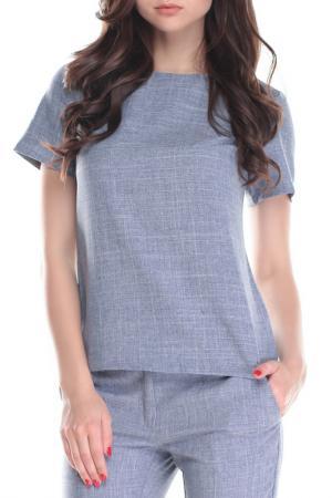Блуза MAURINI. Цвет: дымчатый