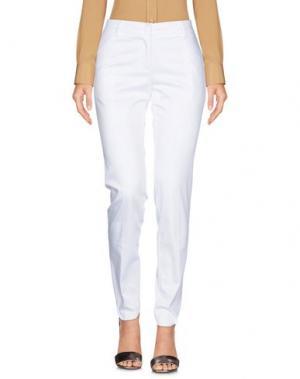 Повседневные брюки MICHAEL FORPUS. Цвет: белый