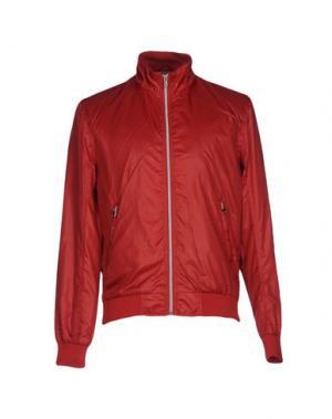 Куртка DAVID NAMAN. Цвет: красный