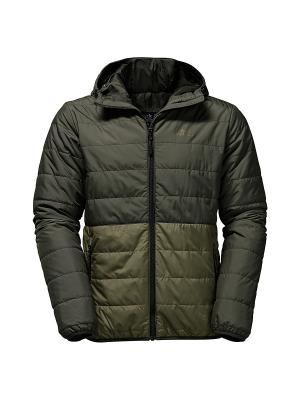 Куртка COOPER BAY MEN Jack Wolfskin. Цвет: темно-бежевый