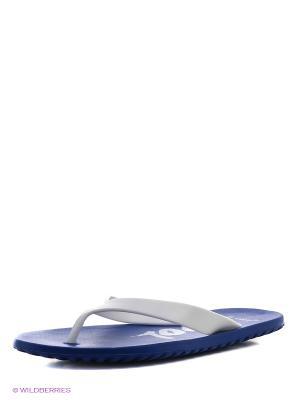 Шлепанцы De Fonseca. Цвет: синий