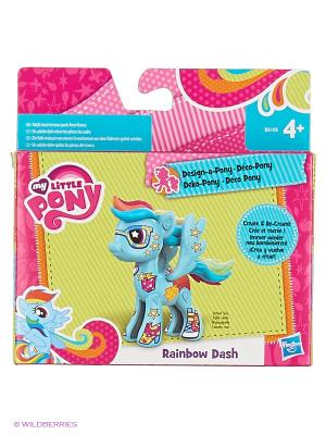 Базовая пони Создай свою Hasbro. Цвет: голубой