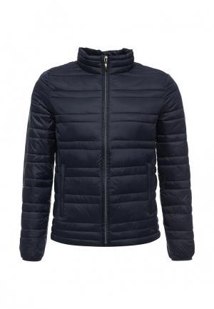 Куртка утепленная Sisley. Цвет: синий