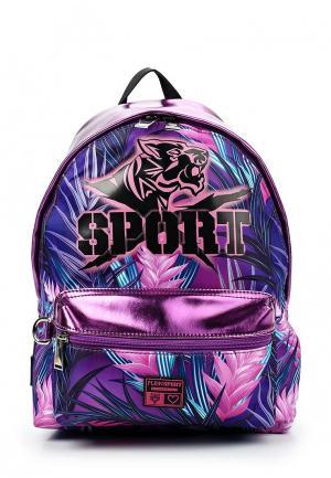 Рюкзак Plein Sport. Цвет: фиолетовый