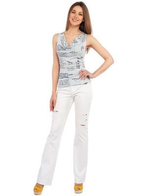 Блуза GiuliaRossi. Цвет: белый