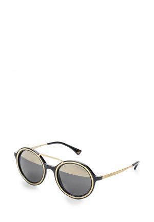 Очки солнцезащитные Emporio Armani. Цвет: розовый