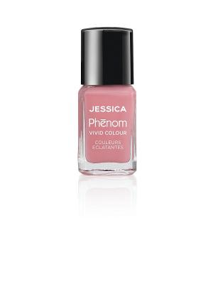 Phenom Цветное покрытие Vivid Colour Divine Miss № 05, 15 мл JESSICA. Цвет: розовый