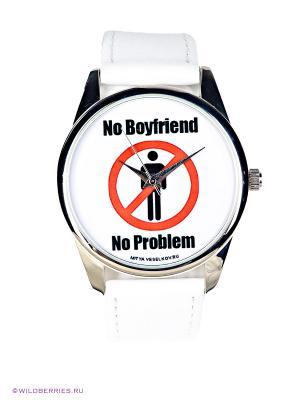 Часы Mitya Veselkov. Цвет: белый, черный, красный