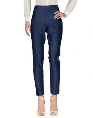 Повседневные брюки SEVERI DARLING. Цвет: синий