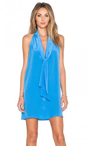Платье dawson Hunter Bell. Цвет: синий