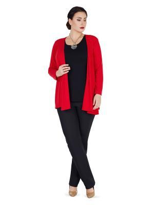 Жакет Darissa Fashion. Цвет: красный