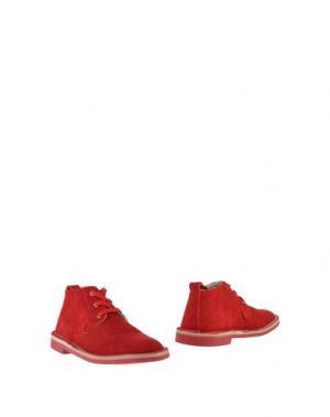 Полусапоги и высокие ботинки BUDDY. Цвет: красный